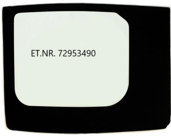 Türscheibe unten gebogen, Nr. 72953490, New Holland, Kobelco, Case